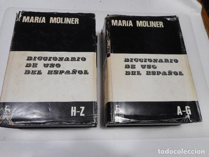 MARIA MOLINER DICCIONARIO DE USO DEL ESPAÑOL Q1455A (Libros de Segunda Mano - Diccionarios)