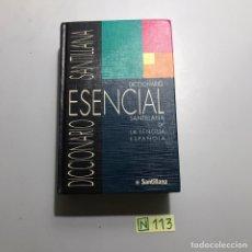 Diccionarios de segunda mano: DICCIONARIO ESENCIAL SANTILLANA. Lote 209983400