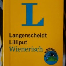 Diccionarios de segunda mano: LANGENSCHEIDT LILLIPUT WIENERISCH. WIENERISCH-HOCHDEUTSCH / HOCHDEUTSCH-WIENERISCH. Lote 210788299