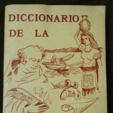 Diccionarios de segunda mano: DICCIONARIO DE LA LENGUA TARASCA, POR MATURINO GILBERTI. MÉXICO, 1983.. Lote 210828975