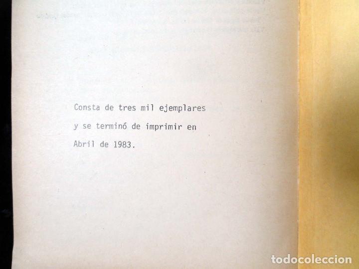 Diccionarios de segunda mano: DICCIONARIO DE LA LENGUA TARASCA, por MATURINO GILBERTI. México, 1983. - Foto 11 - 210828975