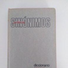 Diccionarios de segunda mano: DICCIONARIO SOPENA DE SINÓNIMOS Y ANTONIMOS. Lote 211408461