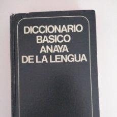 Diccionarios de segunda mano: DICCIONARIO BÁSICO ANAYA DE LA LENGUA. Lote 211409326