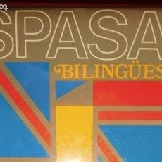 Diccionarios de segunda mano: THE LITTLE ESPASA. BILINGÜE. ENGLISH ESPAÑOL, ESPAÑOL ENGLISH. Lote 211732691
