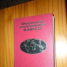 Diccionarios de segunda mano: DICCIONARIO ENCICLOPÉDICO BÁSICO - PLAZA Y JANÉS 1974. Lote 211736783