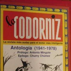 Diccionarios de segunda mano: LACODORNIZ. ANTOLOGIA DE LOS AÑOS 1941 - 1978. Lote 212034448