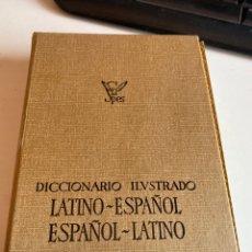 Diccionarios de segunda mano: DICCIONARIO ILUSTRADO LATINO ESPAÑOL. Lote 212496750