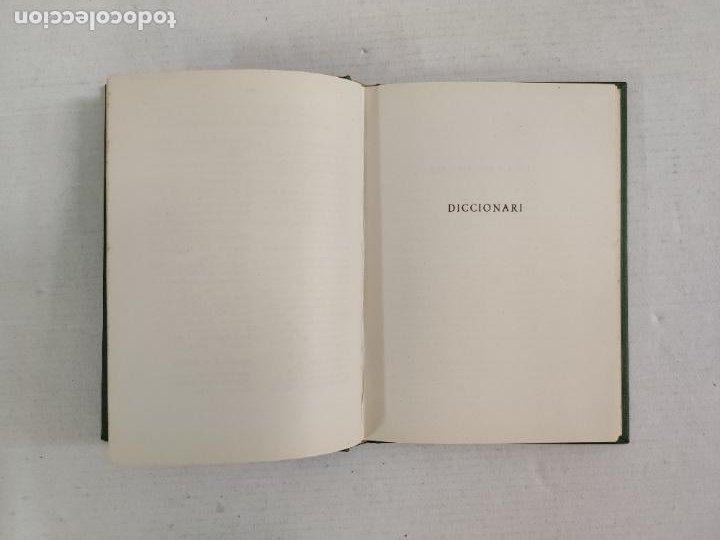 Diccionarios de segunda mano: PRIMER DICCIONARIO CATALÀ DEXCURCIONISME - JOAN SALLARÈS - Editorial Dalmau I Jover, 1959 - Foto 7 - 212766943