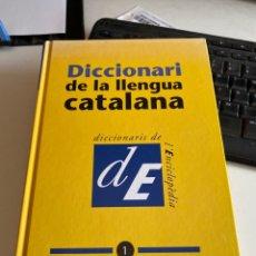 Diccionarios de segunda mano: DICCIONARI DE LA LLENGUA CATALANA. Lote 212779555
