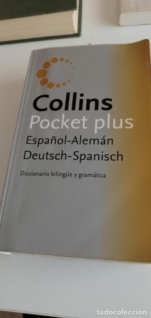 G-20 LIBRO DICCIONARIO ESPAÑOL ALEMAN COLLINS POCKET PLUS (Libros de Segunda Mano - Diccionarios)