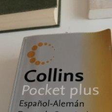 Diccionarios de segunda mano: G-20 LIBRO DICCIONARIO ESPAÑOL ALEMAN COLLINS POCKET PLUS. Lote 213387120