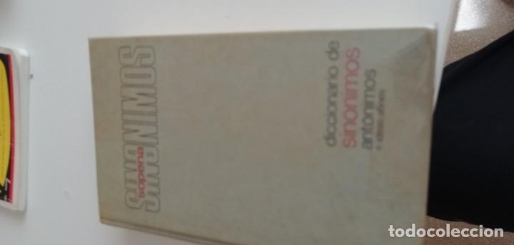 G-20 LIBRO DICCIONARIO DE SINONIMOS, ANTONIMOS E IDEAS AFINES, SOPENA (Libros de Segunda Mano - Diccionarios)