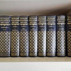 Libri di seconda mano: DICCIONARIO ABREVIADO ESPASA CALPE 9 TOMOS. Lote 213405471