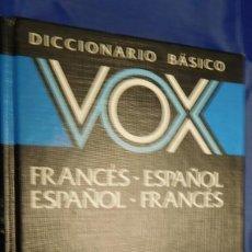 Diccionarios de segunda mano: DICCIONARIO VOX. ESENCIAL FRANCÉS ESPAÑOL ESPAÑO FRANCES.. Lote 213588597