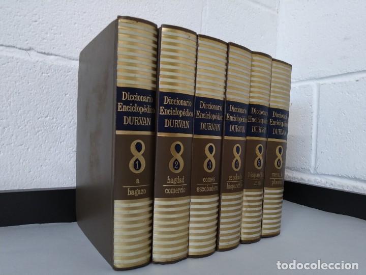 Diccionarios de segunda mano: DICCIONARIO ENCICLOPEDICO DURVAN - 6 TOMOS - AÑO 1972 - ED. DURVAN S.A ... L1747 - Foto 2 - 214082317