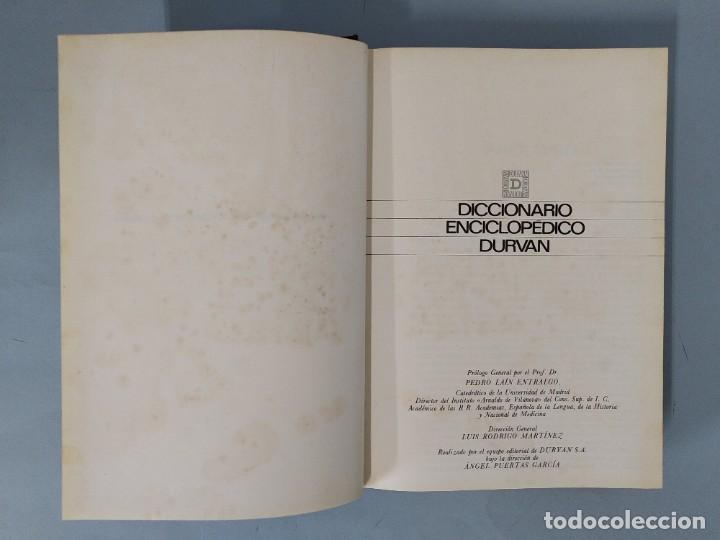 Diccionarios de segunda mano: DICCIONARIO ENCICLOPEDICO DURVAN - 6 TOMOS - AÑO 1972 - ED. DURVAN S.A ... L1747 - Foto 4 - 214082317