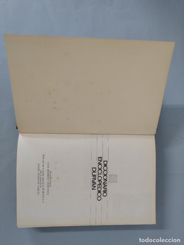 Diccionarios de segunda mano: DICCIONARIO ENCICLOPEDICO DURVAN - 6 TOMOS - AÑO 1972 - ED. DURVAN S.A ... L1747 - Foto 9 - 214082317