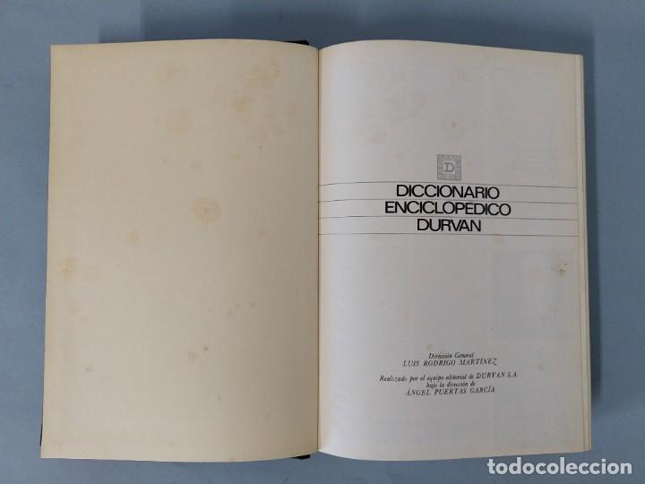 Diccionarios de segunda mano: DICCIONARIO ENCICLOPEDICO DURVAN - 6 TOMOS - AÑO 1972 - ED. DURVAN S.A ... L1747 - Foto 14 - 214082317