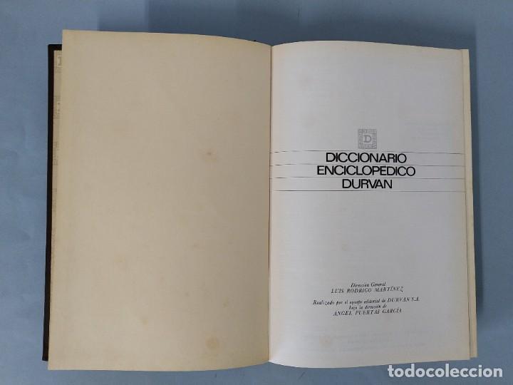 Diccionarios de segunda mano: DICCIONARIO ENCICLOPEDICO DURVAN - 6 TOMOS - AÑO 1972 - ED. DURVAN S.A ... L1747 - Foto 19 - 214082317