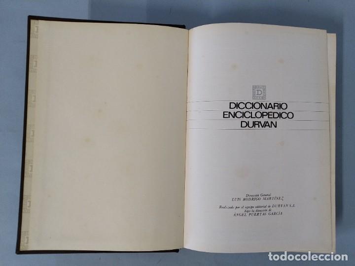 Diccionarios de segunda mano: DICCIONARIO ENCICLOPEDICO DURVAN - 6 TOMOS - AÑO 1972 - ED. DURVAN S.A ... L1747 - Foto 24 - 214082317