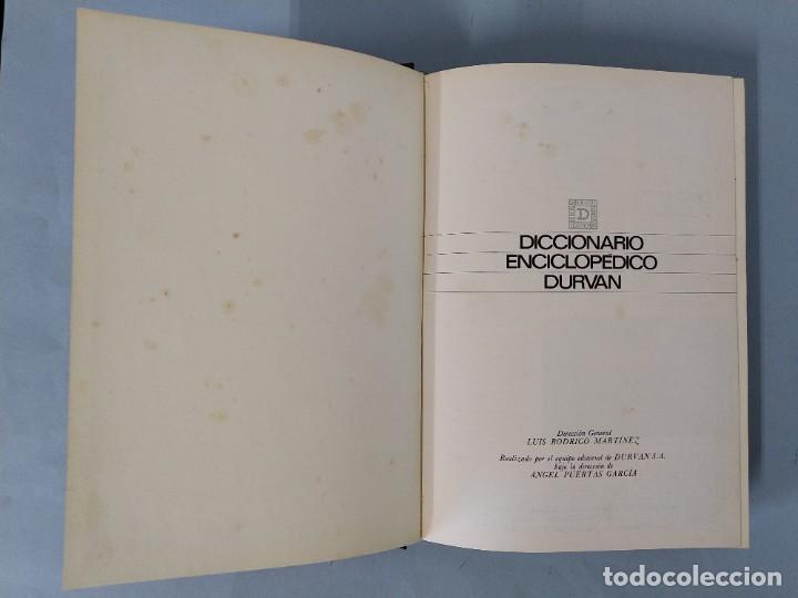 Diccionarios de segunda mano: DICCIONARIO ENCICLOPEDICO DURVAN - 6 TOMOS - AÑO 1972 - ED. DURVAN S.A ... L1747 - Foto 29 - 214082317