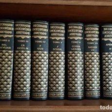 Diccionarios de segunda mano: DICCIONARIO ENCICLOPEDICO ABREVIADO ESPASA CALPE. 7ª EDICION 1957. 7 TOMOS Y 2 APÉNDICES. COMPLETO. Lote 214113510