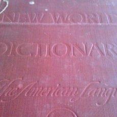 Diccionarios de segunda mano: WEBSTER NEW WORLD DICTIONARY THE AMERICAN LANGUAGE 1953. Lote 214116823
