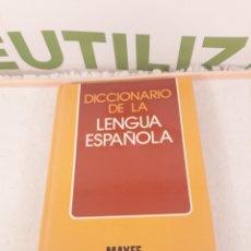 Diccionarios de segunda mano: DICCIONARIO DE LA LENGUA ESPAÑOLA.MAYFE.. Lote 214120147