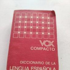 Diccionarios de segunda mano: DICCIONARIO DE LA LENGUA ESPAÑOLA (VOX). Lote 214166708