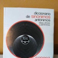 Diccionarios de segunda mano: DICCIONARIO DE SINONIMOS Y ANTONIMOS. SOPENA.. Lote 214170893