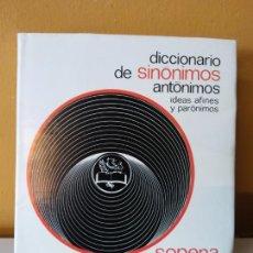 Diccionarios de segunda mano: DICCIONARIO DE SINONIMOS Y ANTONIMOS. SOPENA.. Lote 214170946