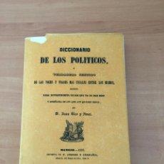 Diccionarios de segunda mano: DICCIONARIO DE LOS POLÍTICOS. Lote 214180388