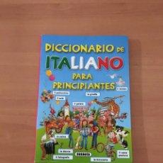 Diccionarios de segunda mano: DICCIONARIO DE ITALIANO. Lote 214187285
