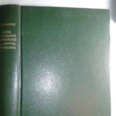 Diccionarios de segunda mano: BREVE DICCIONARIO ETIMOLÓGICO DE LA LENGUA CASTELLANA 1976 JOAN COROMINAS 3ª EDICIÓN GREDOS. Lote 214199860