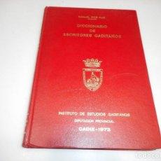 Diccionarios de segunda mano: MANUEL RIOS RUIZ DICCIONARIO DE ESCRITORES GADITANOS Q2310T. Lote 214734137