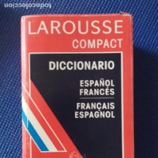 Diccionarios de segunda mano: DICCIONARIO LAROUSSE COMPACT ESPAÑOL FRANCES. Lote 215535850