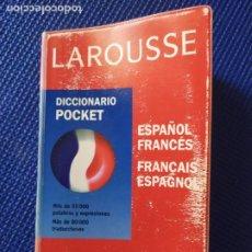 Diccionarios de segunda mano: DICCIONARIO ESPAÑOL FRANCES LAROUSSE POCKET. Lote 215535986