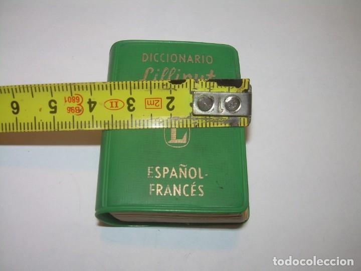 Diccionarios de segunda mano: MINUSCULO DICCIONARIO... LILLIPUT - ESPAÑOL-FRANCES...1960 - Foto 10 - 215637911