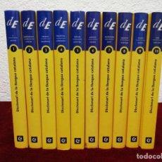 Libri di seconda mano: DICCIONARI DE LA LLENGUA CATALANA. DE. AÑO 2007. 10 VOLUMENES. Lote 215638632