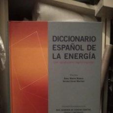 Diccionarios de segunda mano: DICCIONARIO ESPAÑOL DE LA ENERGÍA - MARTÍN Y COLINO. Lote 215760107