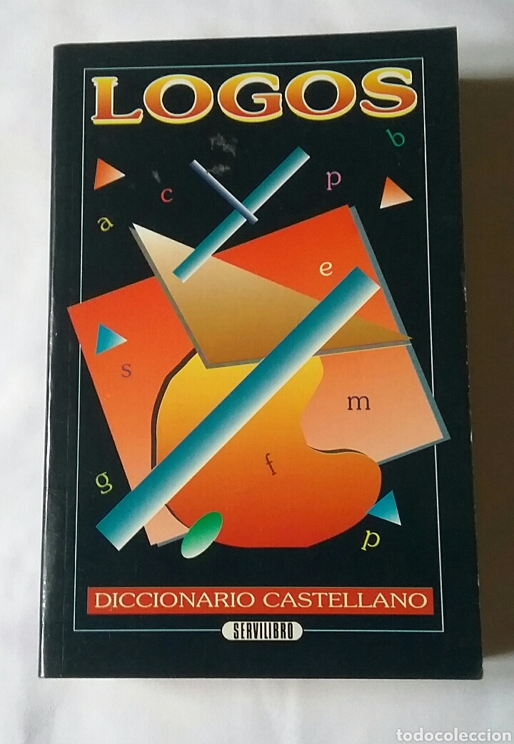 LOGOS. DICCIONARIO CASTELLANO. SERVILIBRO EDICIONES. 1994. (Libros de Segunda Mano - Diccionarios)