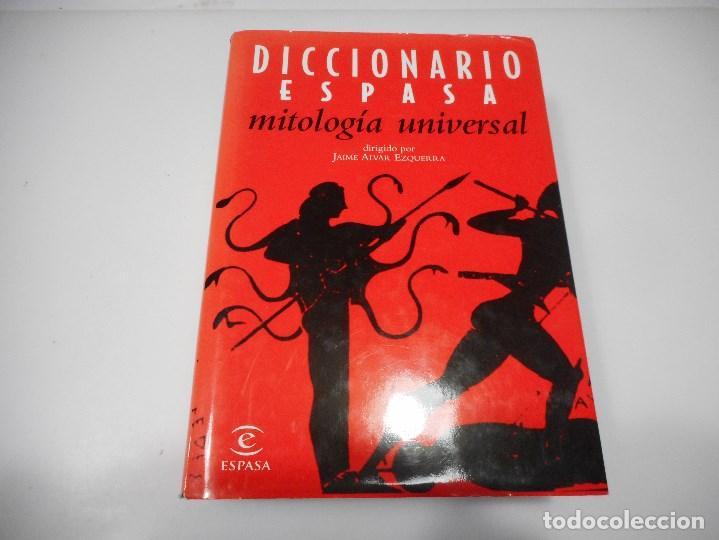 JAIME ALVAR EZQUERRA DICCIONARIO MITOLOGÍA UNIVERSAL Q2507A (Libros de Segunda Mano - Diccionarios)