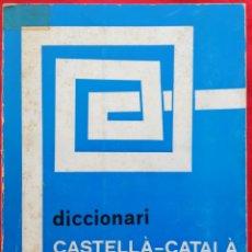 Livres d'occasion: DICCIONARI CASTELLA~CATALÀ - 1977~1ªED. - F.DE B. MOLL - CON RECORTE PRENSA 1995 - PJRB. Lote 216953226
