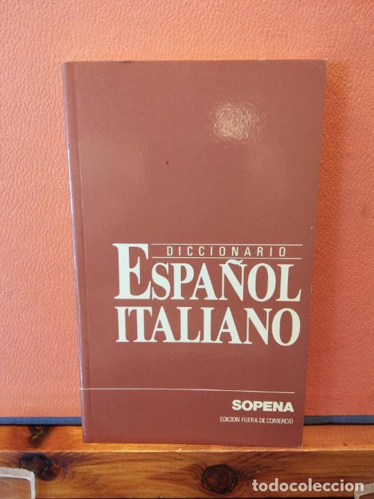 DICCIONARIO ESPAÑOL ITALIANO. SOPENA. (Libros de Segunda Mano - Diccionarios)