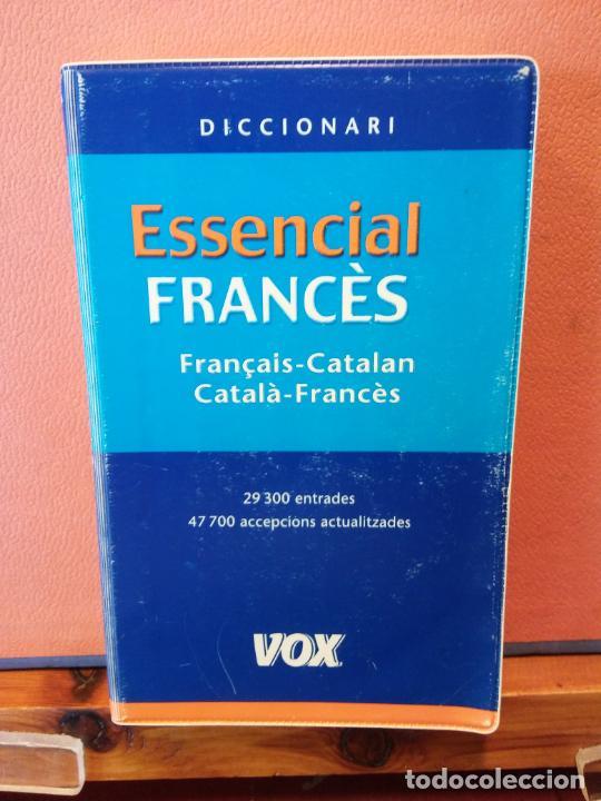 DICCIONARI. ESSENCIAL FRANCÉS. FRANÇAIS-CATALAN. VOX. (Libros de Segunda Mano - Diccionarios)