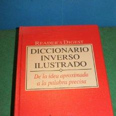 Diccionarios de segunda mano: DICCIONARIO INVERSO ILUSTRADO DE READER'S DIGEST. Lote 217645236