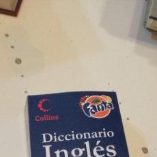 Diccionarios de segunda mano: G-39 LIBRO DICCIONARIO INGLES ESPAÑOL COLLINS FANTA. Lote 217654321