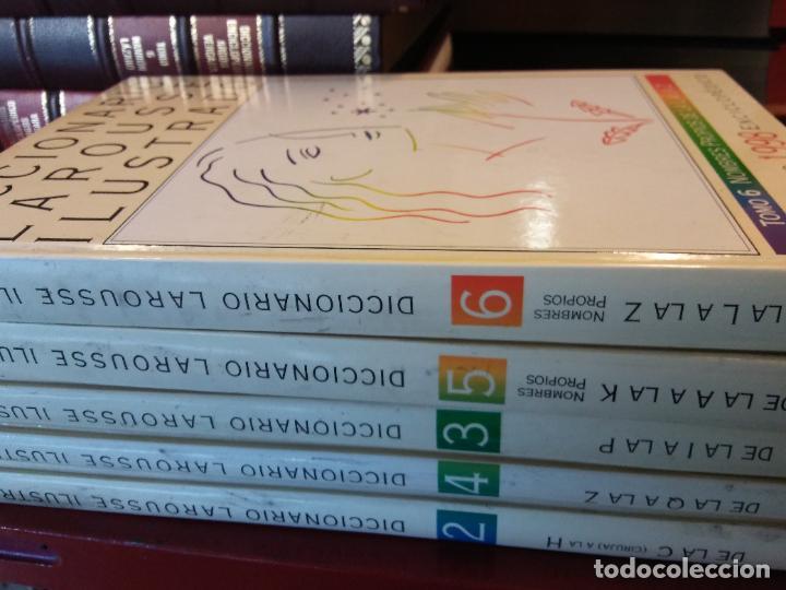 Diccionarios de segunda mano: DICCIONARIOS LAROUSSE ILUSTRADO. 1998. EL PERIÓDICO. 5 TOMOS. - Foto 2 - 217672271