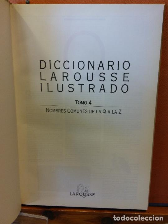 Diccionarios de segunda mano: DICCIONARIOS LAROUSSE ILUSTRADO. 1998. EL PERIÓDICO. 5 TOMOS. - Foto 3 - 217672271
