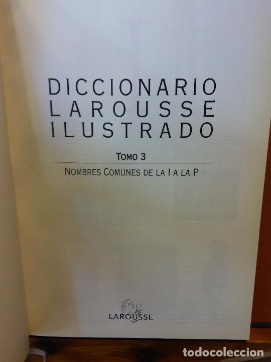 Diccionarios de segunda mano: DICCIONARIOS LAROUSSE ILUSTRADO. 1998. EL PERIÓDICO. 5 TOMOS. - Foto 4 - 217672271